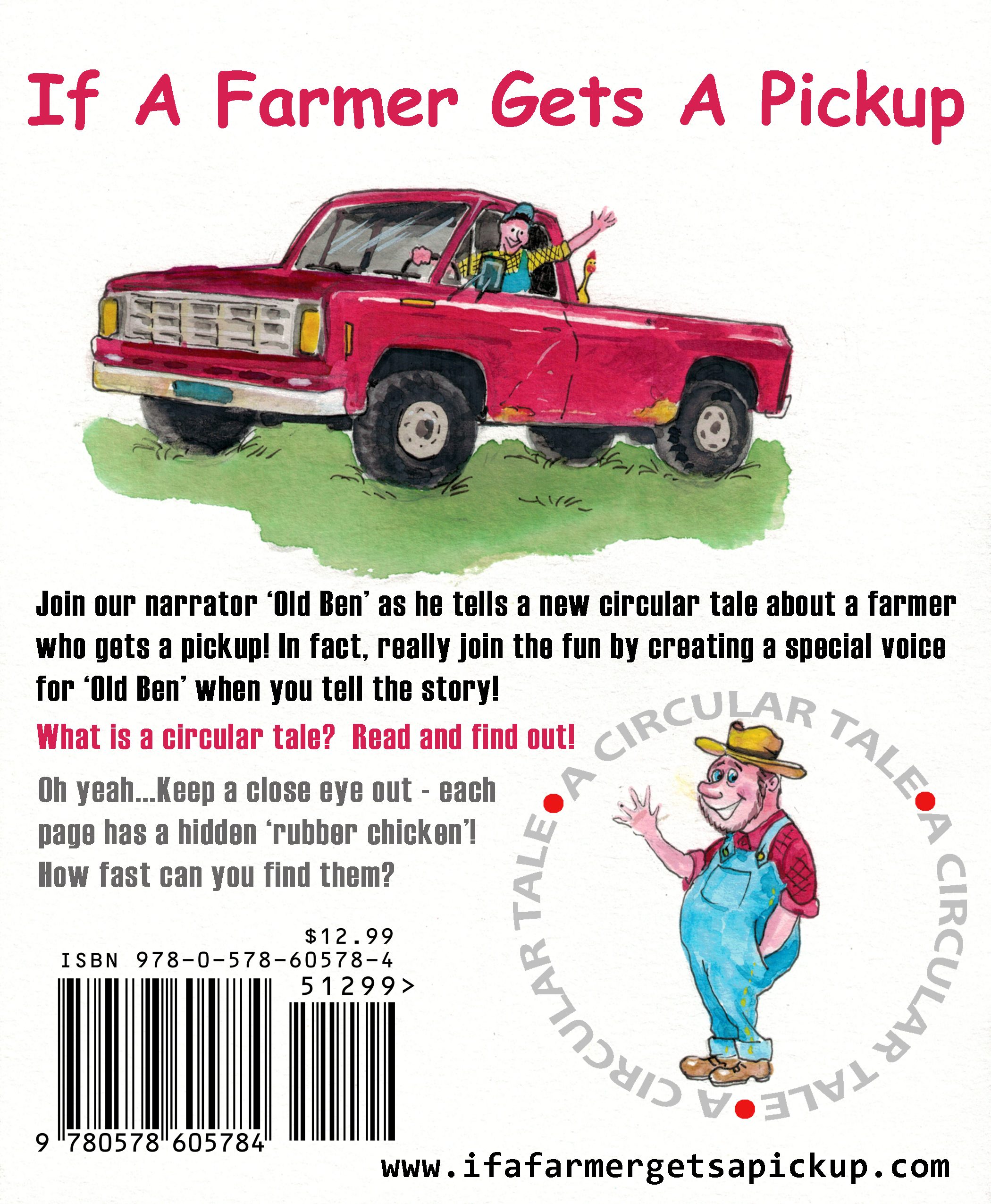 Back Book Cover If A Farmer Gets A Pickup